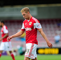 Bristol City's Scott Wagstaff   - Photo mandatory by-line: Dougie Allward/JMP - Tel: Mobile: 07966 386802 11/08/2013 - SPORT - FOOTBALL - Sixfields Stadium - Sixfields Stadium -  Coventry V Bristol City - Sky Bet League One