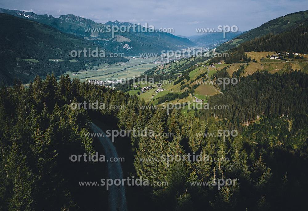 THEMENBILD - ein Forstweg über dem Salzachtal, aufgenommen am 26. Juli 2019 in Piesendorf, Österreich // a forest road above the Salzach valley, Piesendorf, Austria on 2019/07/26. EXPA Pictures © 2019, PhotoCredit: EXPA/ JFK