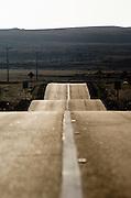 Road near Bahia Inglesa, Atacama desert