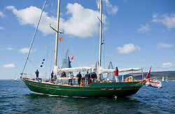 Pelle P Kip Regatta 2019 Day 1<br /> <br /> Light and bright conditions for the opening racing on the Clyde keelboat season<br /> <br /> CV Glenafton