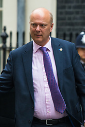 Downing Street, London, October 27th 2015.  Leader of the Commons Chris Grayling arrives at 10 Downing Street to attend the weekly cabinet meeting. /// Licencing: Paul Davey tel: 07966016296 or 02089696875 paul@pauldaveycreative.co.uk www.pauldaveycreative.co.uk