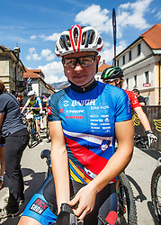 Tanja Zakelj of Slovenia (unior tools team) during Cross Country XC Mountain bike race for Slovenian National Championship in Kamnik, on April 30, 2016 in Kamnik, Slovenia. Photo by Grega Valancic / Sportida