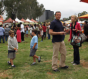 Bob Iger and Willow Bay with sons Robert Maxwell and Will..2011 Celebrity Picnic Sponsored By Disney, Time For Heroes, To Benefit The Elizabeth Glaser Pediatric AIDS Foundation - Inside..Wadsworth Theater Lawn..Los Angeles, CA, USA..Sunday, June 12, 2011..Photo By CelebrityVibe.com..To license this image please call (212) 410 5354; or.Email: CelebrityVibe@gmail.com ;.website: www.CelebrityVibe.com