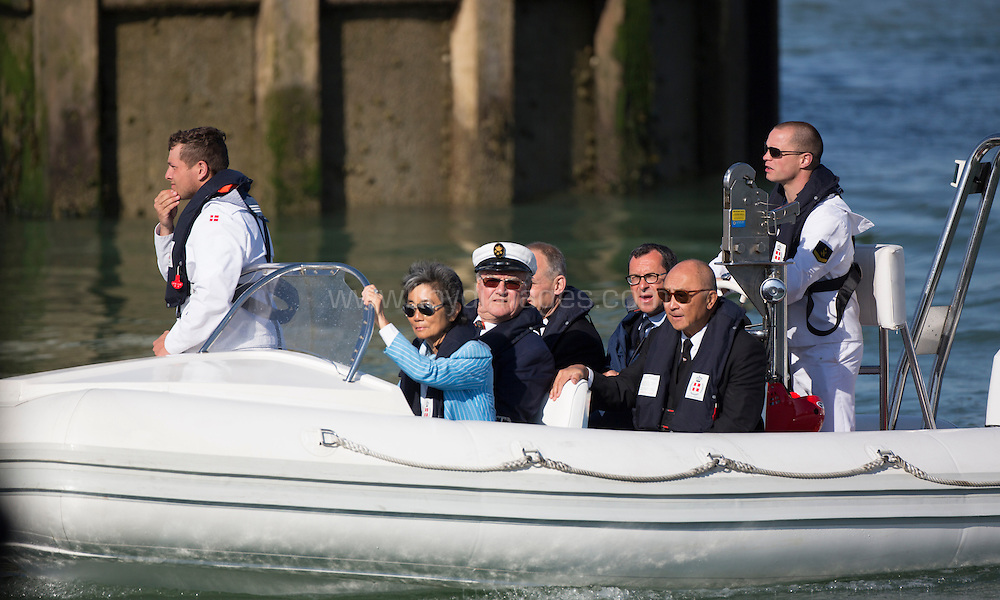 Image licensed to Lloyd Images<br /> The Royal Yacht Squadron Fleet Review. Cowes. Isle of Wight. UK. As part of 200th anniversary of the Royal Yacht Squadron. Prince Henrik of Denmark<br /> Credit - Lloyd Images