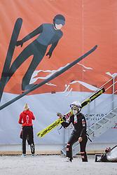 03.03.2021, Oberstdorf, GER, FIS Weltmeisterschaften Ski Nordisch, Oberstdorf 2021, Damen, Skisprung, HS137, Einzelbewerb, im Bild Chiara Hoelzl (AUT) // Chiara Hoelzl of Austria during the women ski Jumping HS137 single competition of FIS Nordic Ski World Championships 2021 Oberstdorf, Germany on 2021/03/03. EXPA Pictures © 2021, PhotoCredit: EXPA/ JFK