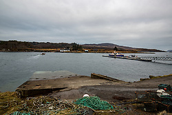 The Ulva ferry area. Feature on the community on the island of Ulva, who have been awarded £4.4m in funding for their island buyout.
