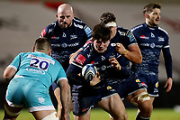 Rugby Union - 2020 / 2021 Gallagher Premiership - Sale Sharks vs Worcester Warriors - AJ Bell Stadium<br /> <br /> Tom Curry and Jono Ross of Sale Sharks<br /> <br /> COLORSPORT/PAUL GREENWOOD
