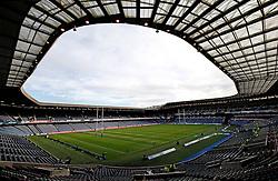 A general view of the BT Murrayfield Stadium, Edinburgh.