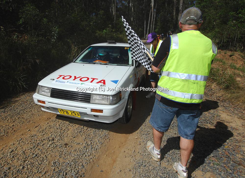 Ben & Mathew Cullen.Motorsport-Rally/2008 Coffs Coast Rally.Heat 1.Coffs Harbour, NSW.15th of November 2008.(C) Joel Strickland Photographics