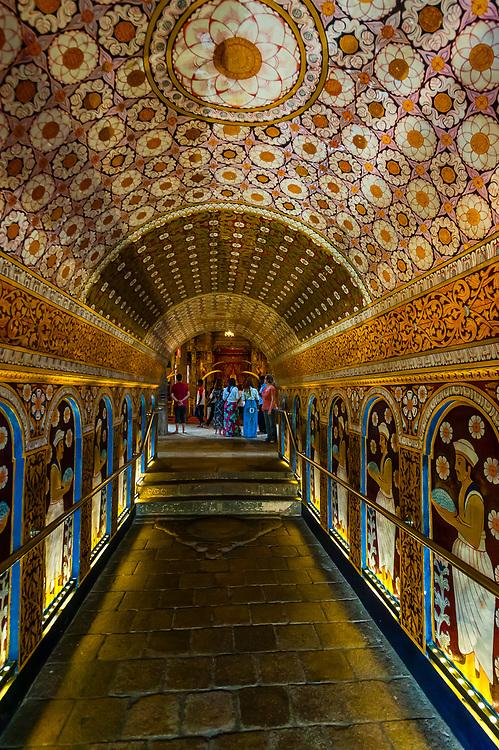 Temple of the Sacred Tooth Relic (Sri Dalada Maligawa), Kandy, Central Province, Sri Lanka.