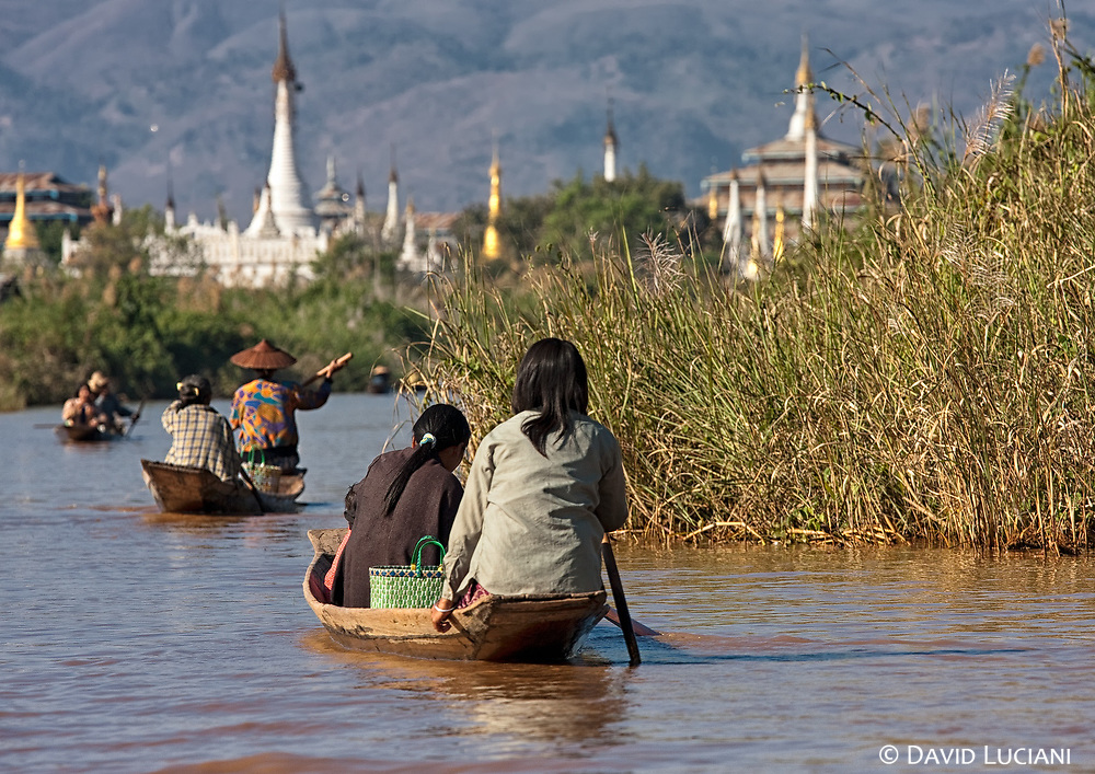 Originally and long time ago, the Intha people were an ethnic group living in Dawei, a city located in south Myanmar, before they settled down in the Inle Lake region. The Intha speak quite the same archaic burmese dialect used in Dawei.