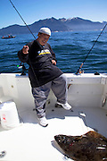 Sam Choy, Fishing,Halibut, Sitka, Southeast, Alaska