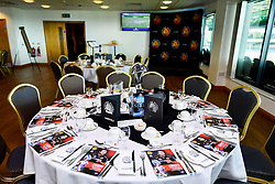 General views of Hospitality in the Chiefs Suite prior to kick off - Mandatory by-line: Ryan Hiscott/JMP - 21/09/2019 - RUGBY - Sandy Park - Exeter, England - Exeter Chiefs v Bath Rugby - Premiership Rugby Cup