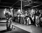 Ghent, Belgium, 5 apr 2015, Church of pentecost celebrates pentecostsunday at Eskimofabriek