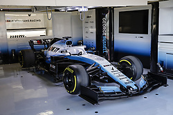 February 18, 2019 - Barcelona, Barcelona, Spain - Williams Racing model car in the box during the Formula 1 2019 Pre-Season Tests at Circuit de Barcelona - Catalunya in Montmelo, Spain on February 18. (Credit Image: © Xavier Bonilla/NurPhoto via ZUMA Press)