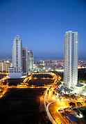 Large condominiums under construction in Makati, Metro Manila.