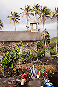 Keanae Congregational Church, Stone Church, Keanae Peninsula, Hana Coast, Maui, Hawaii