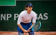 Tsvetana Pironkova of Bulgaria in action during the first round at the Roland Garros 2020, Grand Slam tennis tournament, on September 28, 2020 at Roland Garros stadium in Paris, France - Photo Rob Prange / Spain ProSportsImages / DPPI / ProSportsImages / DPPI