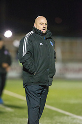 Forfar Athletic's manager Gary Bollan. Forfar Athletic 0 v 1 Arbroath, Scottish Football League Division Two game played 10/12/2016 at Station Park.
