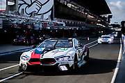 June 10-16, 2019: 24 hours of Le Mans. 81 BMW TEAM MTEK, BMW M8 GTE, Philipp ENG,  Martin TOMCZYK, Nicky CATSBURG , morning warmup