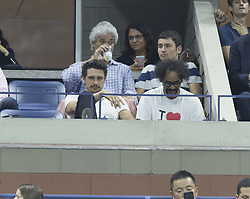 September 5, 2017 - New York, New York, United States - James Franco attends match between Venus Williams of USA & Petra Kvitova of Czech Republic at US Open Championships at Billie Jean King National Tennis Center  (Credit Image: © Lev Radin/Pacific Press via ZUMA Wire)
