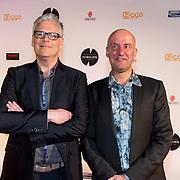 NLD/Amsterdam/20140303 - Uitreiking TV Beelden 2014, Joep van Deudekom en Rob Urgert