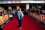 ADE, The Infidel premiere. Apollo theatre, Hammersmith. London. 8 April 2010
