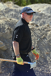 Detective Inspector Jon Cousins of South Yorkshire Police at the scene in Kos, Greece, as officers from the force accompanied by forensic experts and volunteers continue excavations in relation to the missing toddler Ben Needham.
