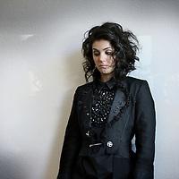 Nederland, Hilversum , 6 april 2010..De zangeres Katie Melua. British singer Katie Melua..Foto:Jean-Pierre Jans