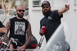 Biltwell Bash at Robison's Cycles during Daytona Bike Week 75th Anniversary event. FL, USA. Friday March 11, 2016.  Photography ©2016 Michael Lichter.