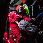 Leg 3, Cape Town to Melbourne, day 03,  on board MAPFRE. Photo by Jen Edney/Volvo Ocean Race. 12 December, 2017.