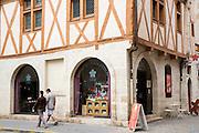 Cafe La Rose de Vergy in Rue de la Chouette at Dijon in the Burgundy region of France