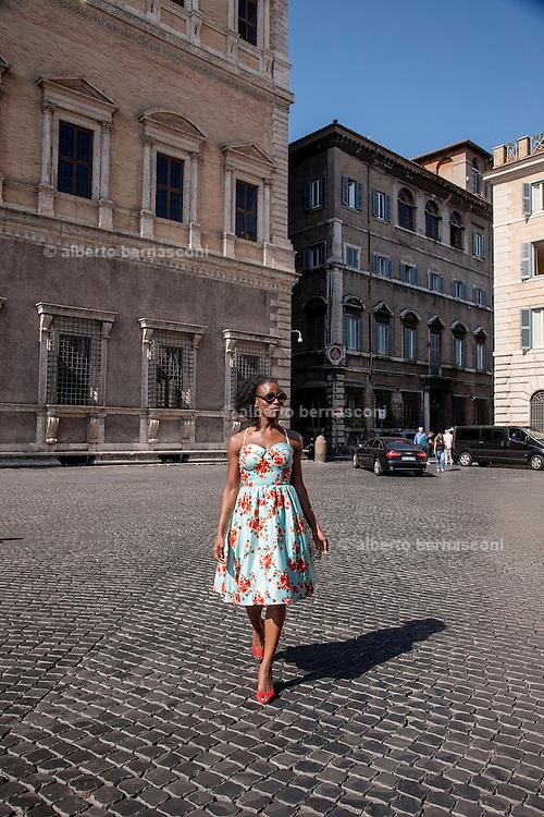Rome, the writer Taiye Selasi,