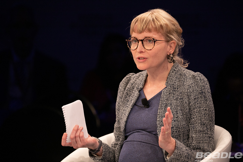 Gabriele Steinhauser, Deputy Bureau Chief, Africa, Wall Street Journal, USA speaking during the session From Start-Ups to Scale-Ups at the World Forum World Economic Forum on Africa 2019. Copyright by World Economic Forum / Greg Beadle