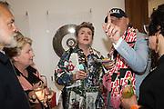 GRAHAM NORTON, SANDI TOKSVIG, DEBBIE TOKSVIG, BOB AND ROBERTA SMITH, , Royal Academy of arts summer exhibition summer party. Piccadilly. London. 4 June 2019