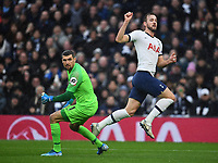 Football - 2019 / 2020 Premier League - Tottenham Hotspur vs. Brighton & Hove Albion<br /> <br /> Tottenham Hotspur's Harry Kane puts the ball past Brighton & Hove Albion's Mat Ryan but the goal was disallowed for offside, at The Tottenham Hotspur Stadium.<br /> <br /> COLORSPORT/ASHLEY WESTERN