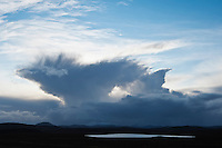 Winter cloud formation, Isle of Lewis, Scotland