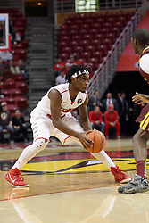 06 January 2016: Paris Lee(1) during the Illinois State Redbirds v Loyola-Chicago Ramblers at Redbird Arena in Normal Illinois (Photo by Alan Look)