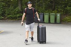 August 28, 2017 - ZüRich, Schweiz - Zürich, 28.08.2017, Fussball - Besammlung Schweizer Nationalmannschaft, Haris Seferovic kommt zur Besammlung der Schweizer Nationalmannschaft. (Credit Image: © Melanie Duchene/EQ Images via ZUMA Press)