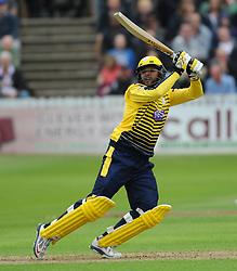 Hampshire's Shahid Afridi in action.  - Mandatory by-line: Alex Davidson/JMP - 19/06/2016 - CRICKET - Cooper Associates County Ground - Taunton, United Kingdom - Somerset v Hampshire - NatWest T20 Blast