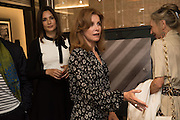 ASTRID MUNOZ; STEPHANIE POWERS; VANESSA CLYDE preview of 'UNBRIDLED SYNCHRONY', an exhibition of works by photographer Astrid Muñoz. Jaeger-LeCoultre Boutique<br /> 13 Old Bond Street. London. 13 July 2015