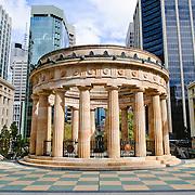 Brisbane's ANZAC War Memorial with eternal flame