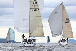 The Silvers Marine Scottish Series 2014, organised by the  Clyde Cruising Club,  celebrates it's 40th anniversary.<br /> Day 1<br /> GBR7667R, Now or Never 3, Neil Sandford, Fairlie YC, Mat 1010<br /> <br /> Racing on Loch Fyne from 23rd-26th May 2014<br /> <br /> Credit : Marc Turner / PFM