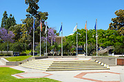 Becker Amphitheater on Campus at California State University Fullerton