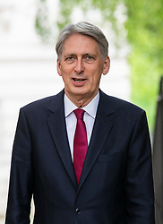 © Licensed to London News Pictures. 14/05/2018. London, UK. The Chancellor of The Exchequer Philip Hammond seen on Downing Street. Photo credit: Rob Pinney/LNP