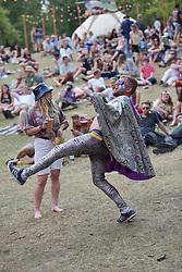 © Licensed to London News Pictures. 07/08/2015. Cornbury Park, Charlbury, Oxfordshire. Wilderness Festival 2015 at Cornbury Park in Oxfordshire attracted crowds of 30,000. Photo credit : MARK HEMSWORTH/LNP
