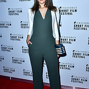 Nicole Peloso attend TriForce Short Festival, on 30 November 2019, at BFI Southbank, London, UK.