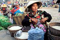 Laos - Paksé - Marché