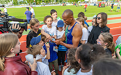 26.05.2018, Moeslestadion, Götzis, AUT, 45. Hypo Meeting Goetzis, Zehnkampf Herren, im Bild Damian Warner (CAN) // Damian Warner of Canada during the 45th Hypo Athletics Meeting at the Moeslestadion in Götzis, Austria on 2018/05/26. EXPA Pictures © 2019, PhotoCredit: EXPA/ Peter Rinderer