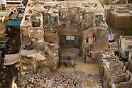 Cairo historic City in ruins EG120 Le Caire la ville historique en ruine